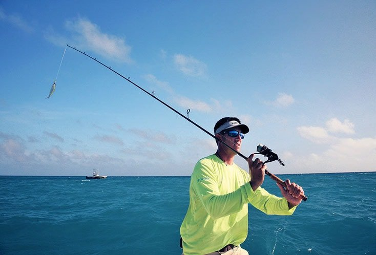 tips to cast fishing rod
